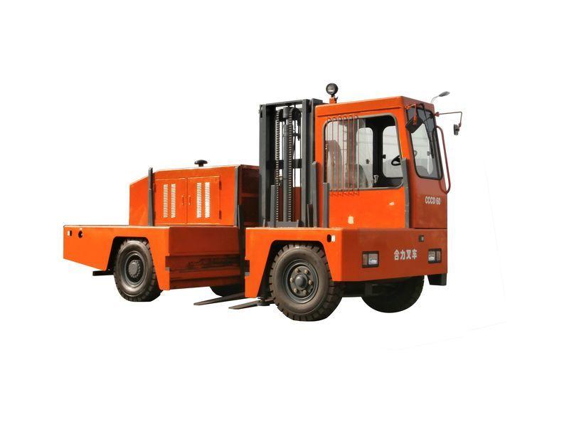 新H系列5-6吨侧面叉车