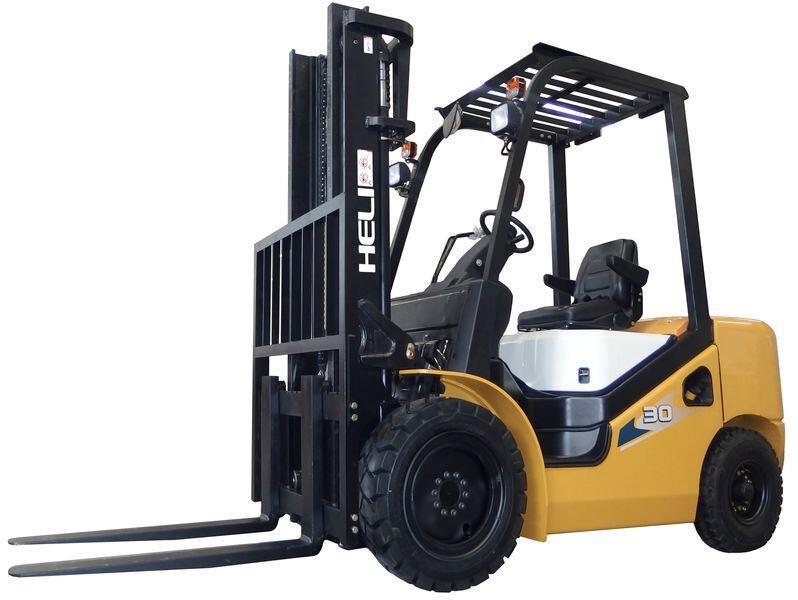 新H系列3-3.5吨静压叉车