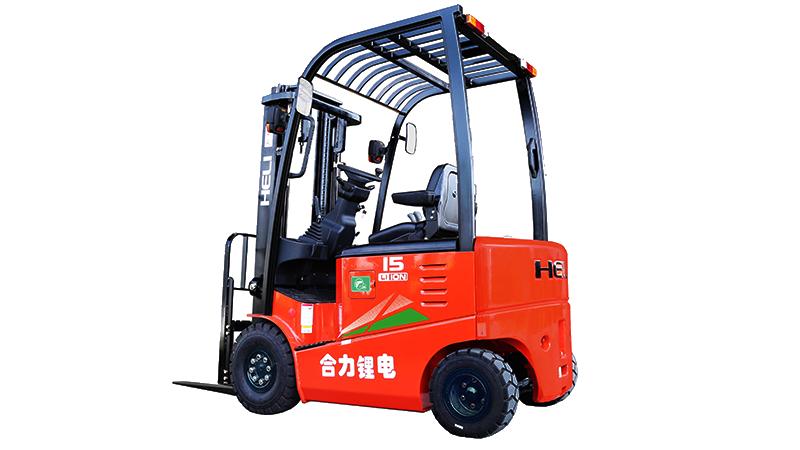 1-1.8吨锂电池平衡重式叉车