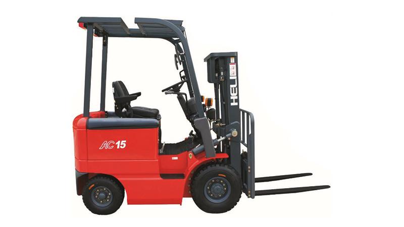 H系列1-1.5吨窄车身蓄电池平衡重式叉车