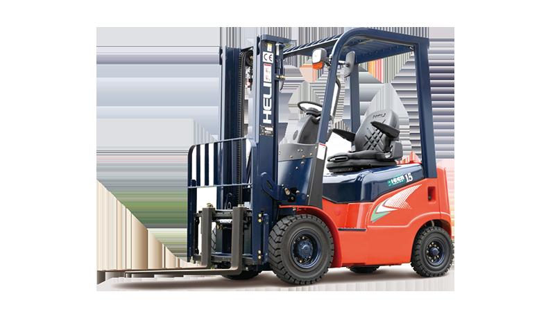 1-1.8吨柴油/汽油/液化气平衡重式叉车