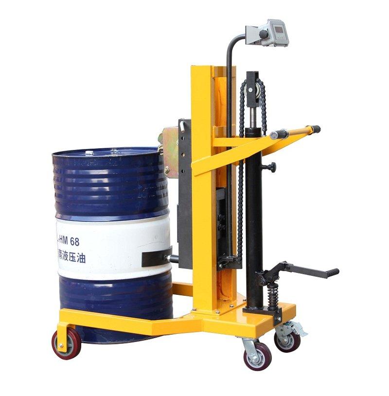DTF450A-1脚踏式油桶搬运车