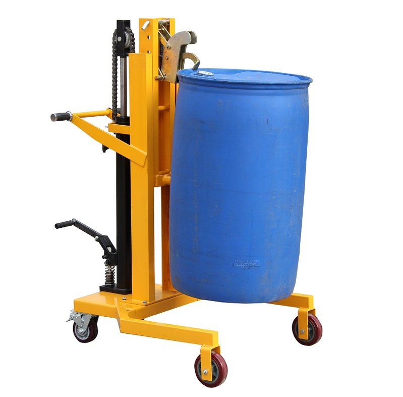 DTF450B脚踏式油桶搬运车