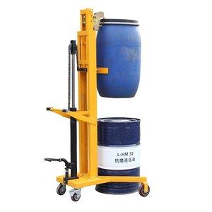 DTF450C脚踏式油桶搬运车